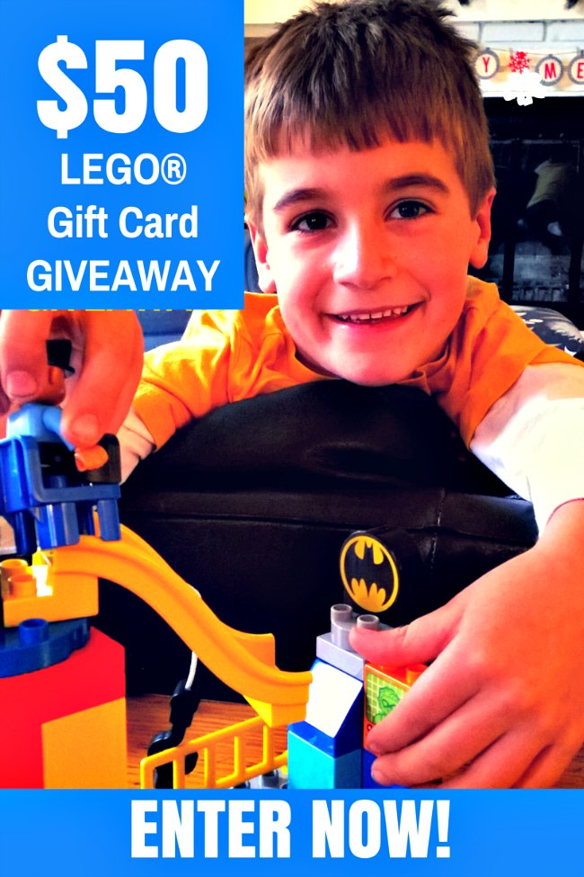 Five reasons your kids will LOVE the LEGO DUPLO Batman adventure set - and a chance to win a $50 LEGO gift card.