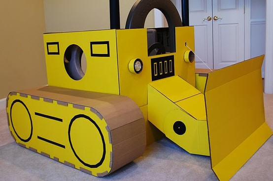 Cardboard Craft Ideas For Toddlers