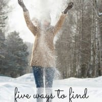 Five great ways for you and your family to find comfort and joy at home this Christmas season.