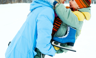 Five tips on how to stay active in the winter as a family. It's not as difficult as you may think!
