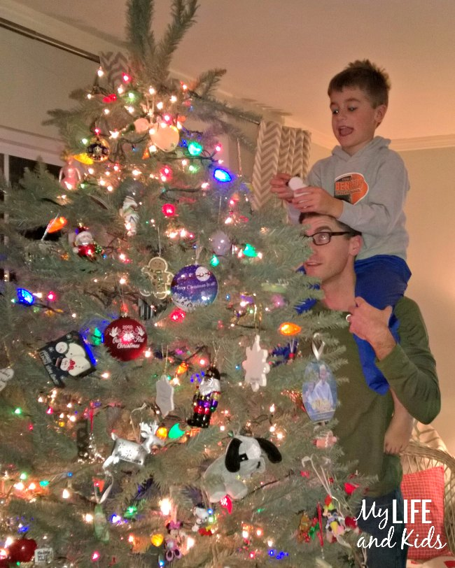 Decorating the Christmas tree is one of my most favorite events of the year. Find out how we make it a little more special each year.