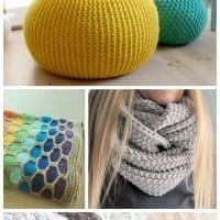 Spread holiday cheer this season with these fun DIY 15 super cozy, stylish knitting projects to keep you warm and busy this winter. Great gift ideas to wear or for the home. #10 is my favorite!
