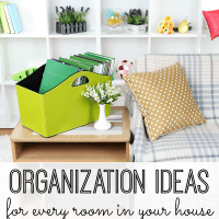 Get organized for good. Tackle every area of your home using these awesome organization ideas. Your entire house (and your life) will be in order with these simple tips.