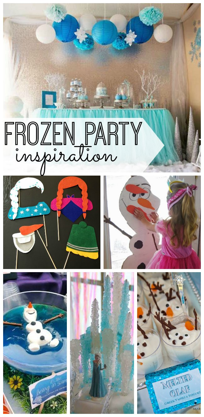 Your guide for how to host a Frozen party. The best DIY decorations, crafts, activities, and recipes for the ultimate Frozen party.