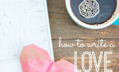 Wondering how to write a love letter? We have suggestions for putting your emotions on paper—in an authentic way—no matter how long you've been together. Great tips for how to write a love letter (and still sound like yourself!)