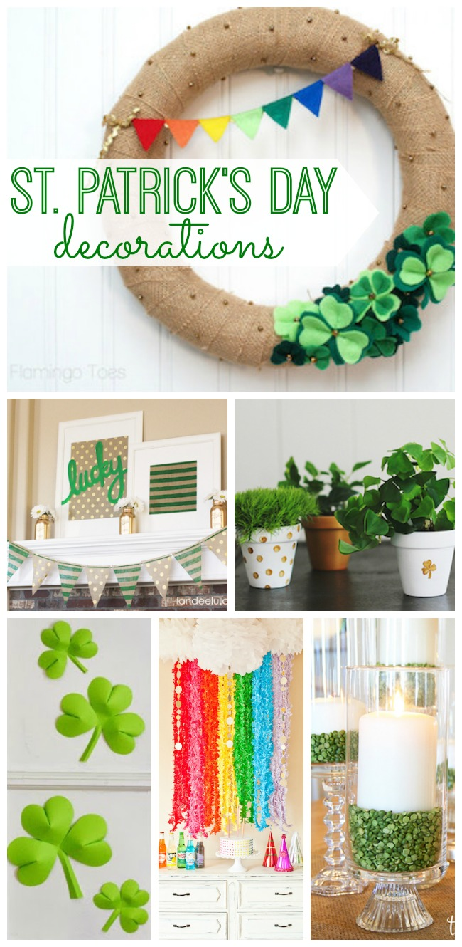 Decorate your home for St. Patrick's Day and spread the cheerfulness of this fun holiday all around your house. You'll love these DIY St. Patrick's Day decorations!