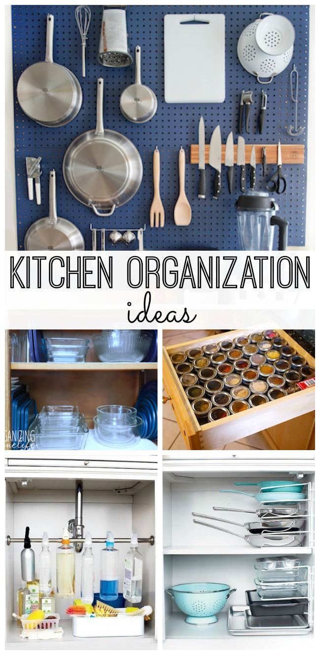Ideas for kitchen organization - Kitchen Organization Ideas