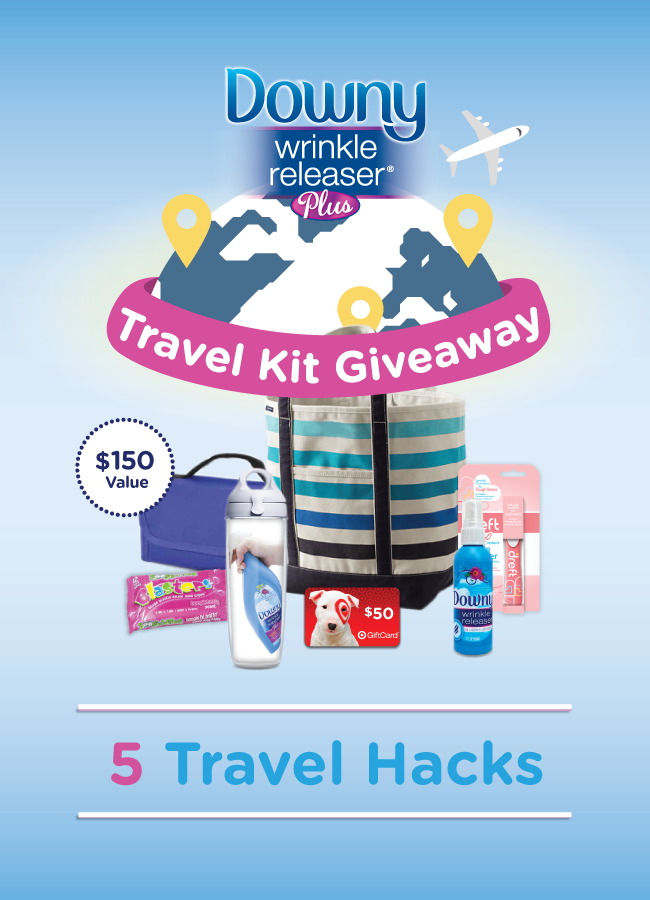 Five Travel Hacks You'll Love + HUGE Giveaway ($150 Value)