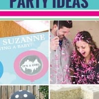 Thinking about hosting a gender reveal party? From cupcakes to a cake and even a pinata and balloons, you'll love these unique DIY gender reveal party ideas. Such fun ways to find out if you're having a boy or a girl.