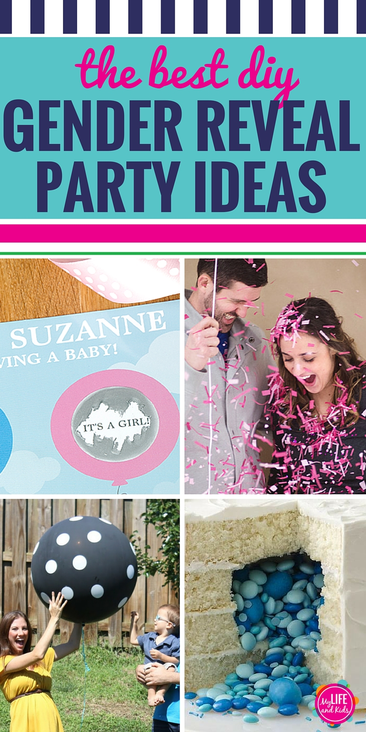 Diy Gender Reveal Cake Ideas