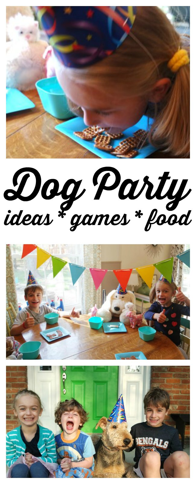 Planning a dog party? I'm sharing my favorite dog party ideas - including dog party games, the best dog party food, dog party decorations and (of course) the best dog party gifts! Great ideas for puppy and dog parties.