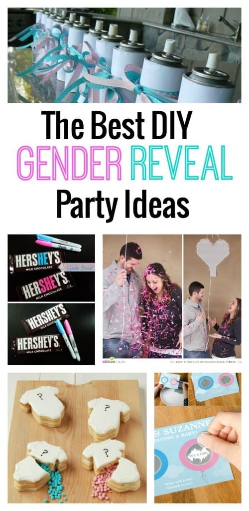 Wondering what to do for the big reveal? We've rounded up the best DIY gender reveal party ideas out there right now!