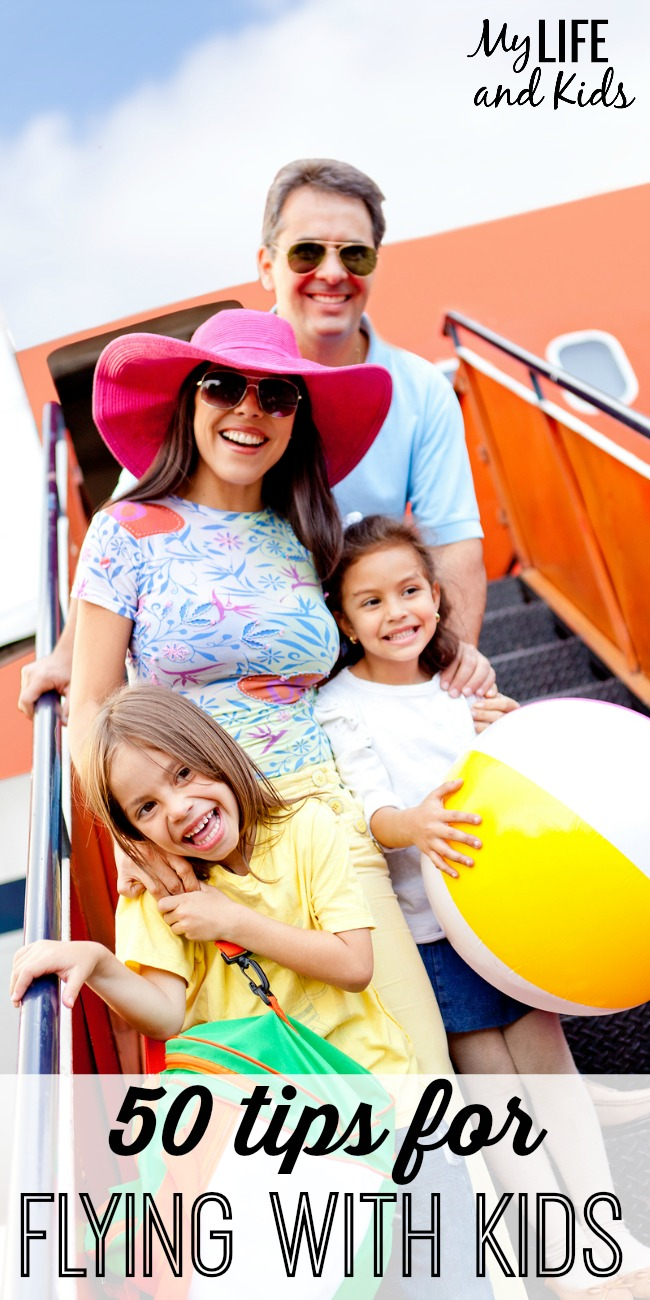If you're flying with your little ones sometime soon, make it a smooth trip by following these 50 travel tips.