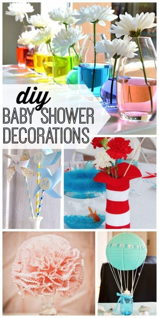 Diy 2 7 my life and kids for Baby shower decoration ideas homemade