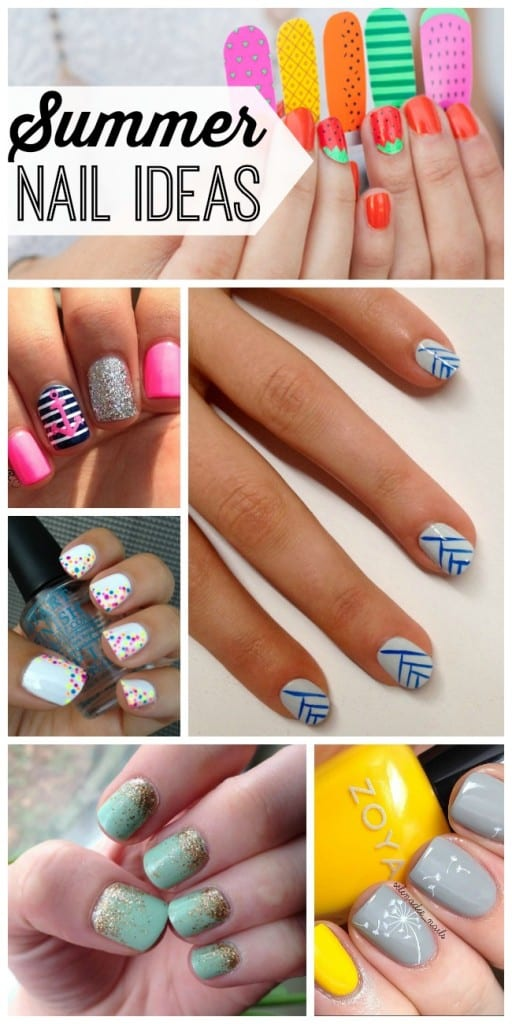 27 summer nail ideas that will make your manicure way more fun. #5 is so cute!