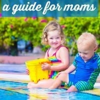 Have little kids and afraid to take them to the pool alone? You can do this! Super practical tips from a mom who had three kids in three years - and took them to the pool alone every summer! From what gear you'll need to exactly what to do when your kids run in opposite directions to how to handle the pool exit meltdowns - this guide for moms on taking infants and toddlers to the pool is a must read for summer! Great pool hacks for moms that will make your summer great.