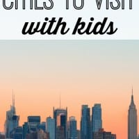 Full of energy and packed with things to do, cities can be a great family getaway. Check out our list of 10 U.S. cities to visit with kids and highlights from each.