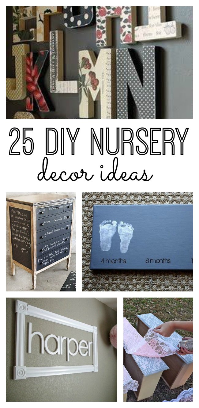 25 Diy Nursery Decor Ideas