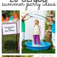 If you're planning on hosting a summer party, you will love these 25 genius summer DIY summer party ideas! From decor to desserts, this list includes a little bit of everything!