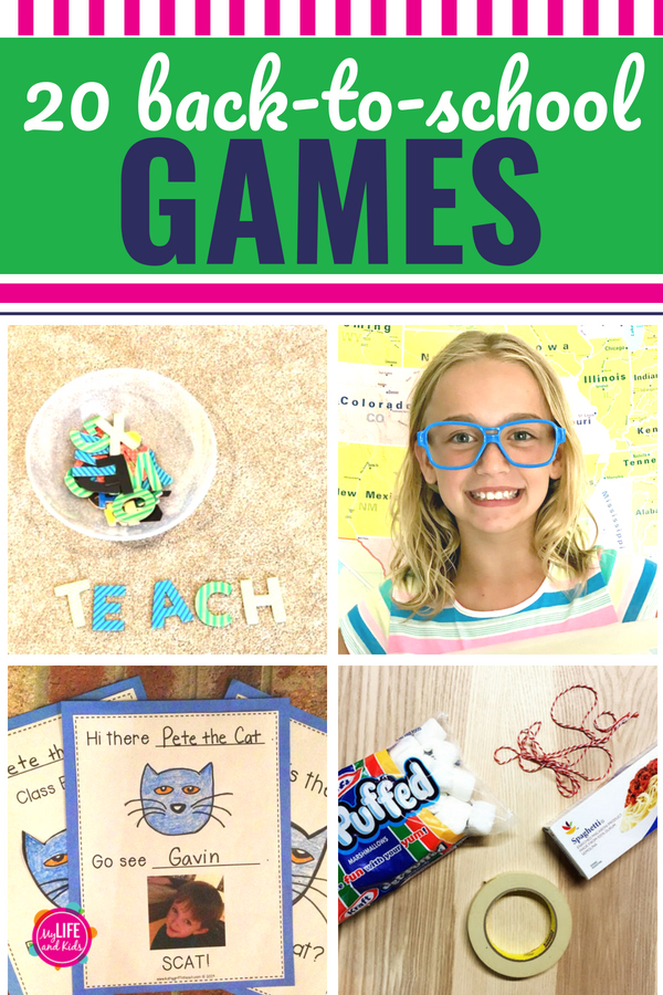 If you're looking for some activities to get your kids excited about the school year, or are a teacher prepping for the first week of school, we've got you covered with these 20 awesome back to school games! They're perfect for team building activities (even for adults), classroom parties or even a church group getting kids excited to head back to school. Some of the minute to win it games are even perfect for teens. #backtoschool #teachers #students #kids #activities #teens #minutetowinit
