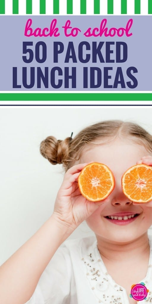 Do you dread packing lunches? Not anymore! These 50 packed lunch ideas are healthy and easy and will inspire you to pack healthy lunches for school every day of the week. From sandwiches to soup nad more than 30 lunches you can make ahead, these lunch ideas are great for kids.