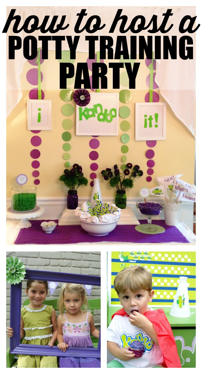 Hosting your own potty training party is easy! Whether you're getting your little one excited to start using the potty or you're celebrating a big success, a potty training party can add some fun and excitement to the potty training experience.