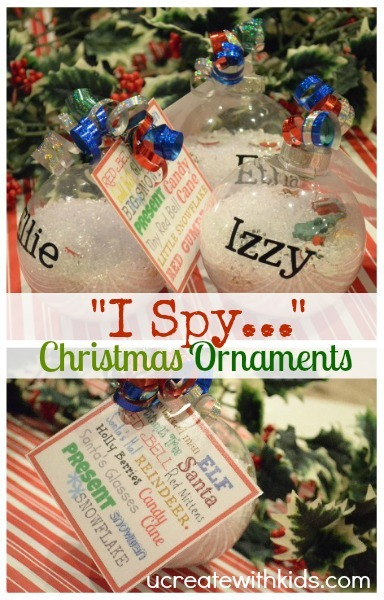 Check out these 15 DIY ornaments for girls to make this Christmas season! These are perfect ornaments to trim your tree or to give as gifts.