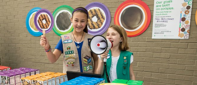Is someone you know selling Girl Scout Cookies? From booth sales to selling activities, this is about a lot more than raising money and meeting a goal. We're sharing our top 10 reasons to buy Girl Scout Cookies - plus more than 50 Girl Scout Cookies recipes.