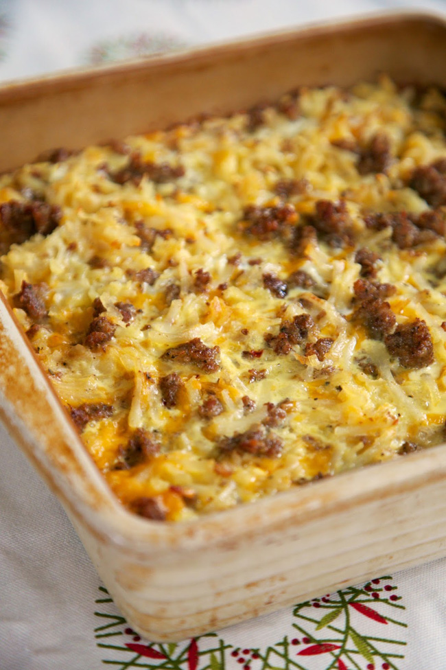 This Best Make-Ahead Hash Brown Casserole will not only provide you time to socialize, but will be a delicious addition to your brunch. When made with the Easy Make Ahead Egg Casserole and the Make Ahead French Toast Casserole, your brunch is destined to be a hit.