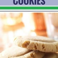 These easy peanut butter cookies are soft and delicious - and so simple to make. Just 3 ingredients to whip up a batch of these chewy gluten free homemade cookies. Best cookies ever!