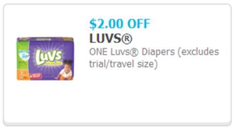 Luvs Print-at-Home Coupon Visual
