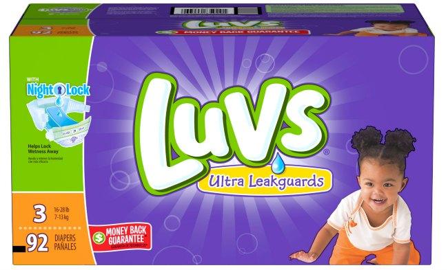 Luvs Product Shot