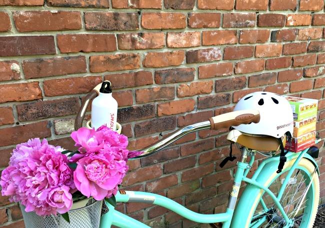 Beautiful Bike with Flowers