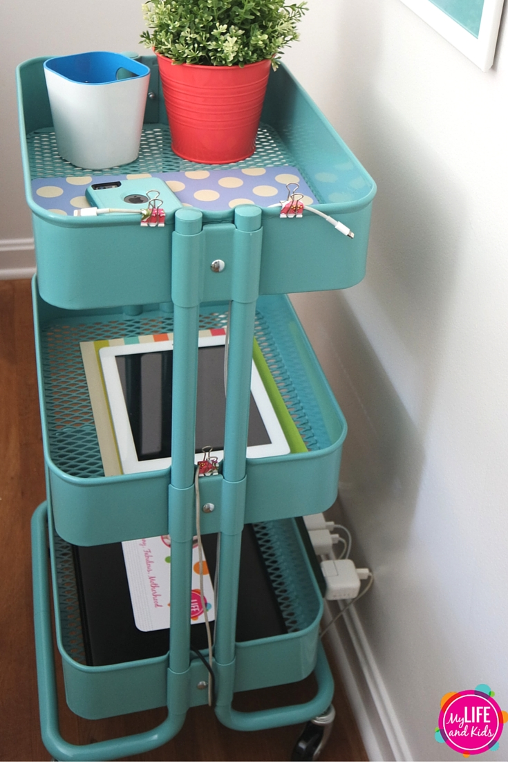Sleep Better With A Diy Charging Station My Life And Kids