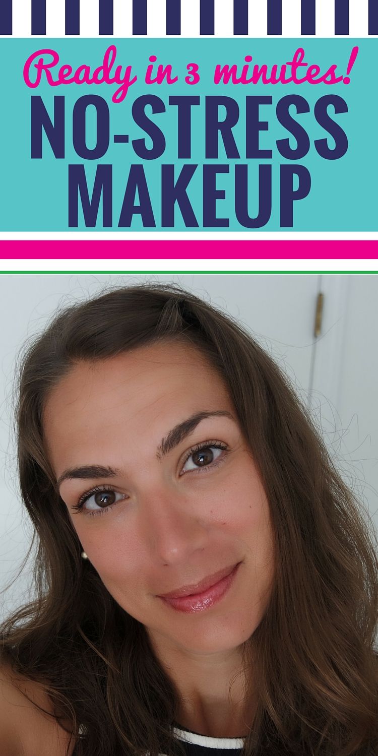 3 minute makeup routine for moms