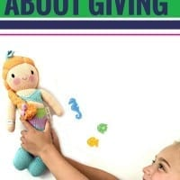 I'm always trying to find unique and fun ways to teach my kids about giving back. And I have to say that this takes the cake. Such a fun way to give back with your kids and help instill a spirit of giving. Learn more here.