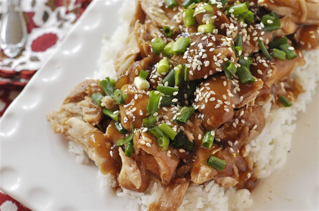 Crockpot Honey Sesame Chicken copy