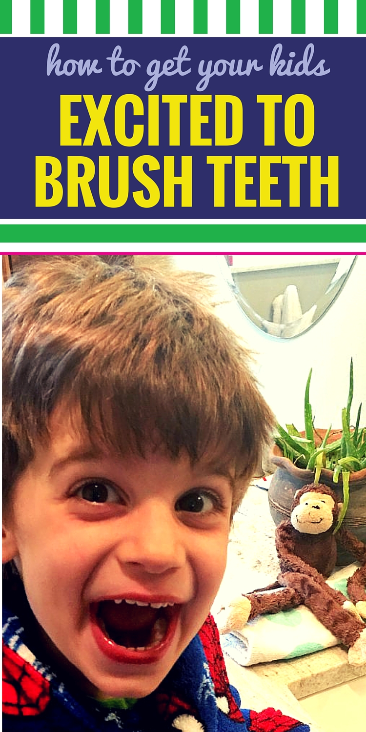 How to Get Your Kids Excited to Brush Their Teeth