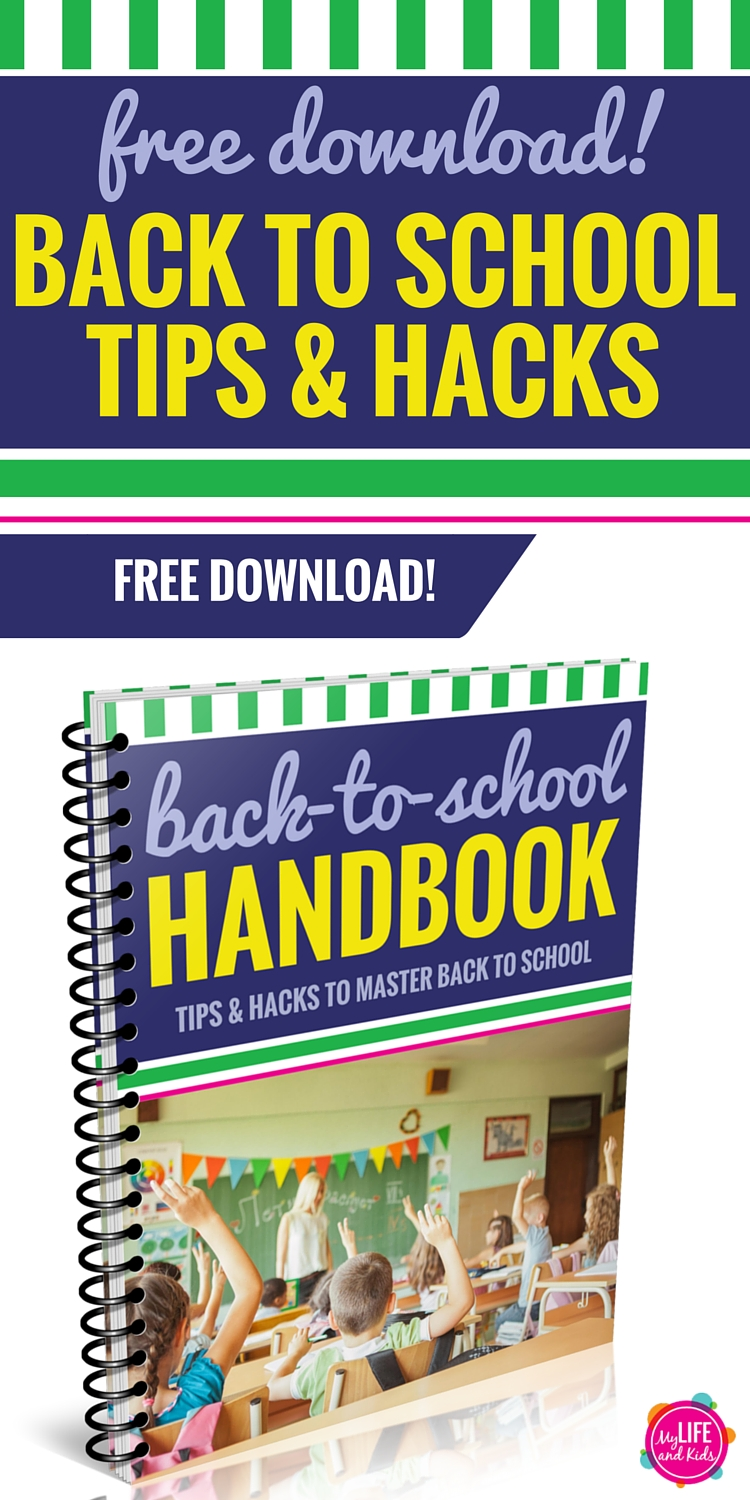 It's time to simplify back to school with these tips and tricks to get you organized. In this free Master Back to School handbook, you'll learn great ideas to do the night before school starts, a major shortcut for packing lunches, an organization tip you're going to love, the 10-minute tech hack that will save you hours of anxiety, plus our favorite school supplies and activities to get your kids talking after school. And how I make sure to have dinner on the table every single night. Whether you have teens at home or a child heading off to preschool, this FREE download is for you.