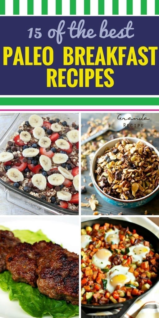 15 Breakfast Paleo Recipes. These healthy breakfast recipes will fit into your paelo diet easily. We've even included a way to make paleo pancakes. Next? You'll be eating breakfast for dinner because these are so good.