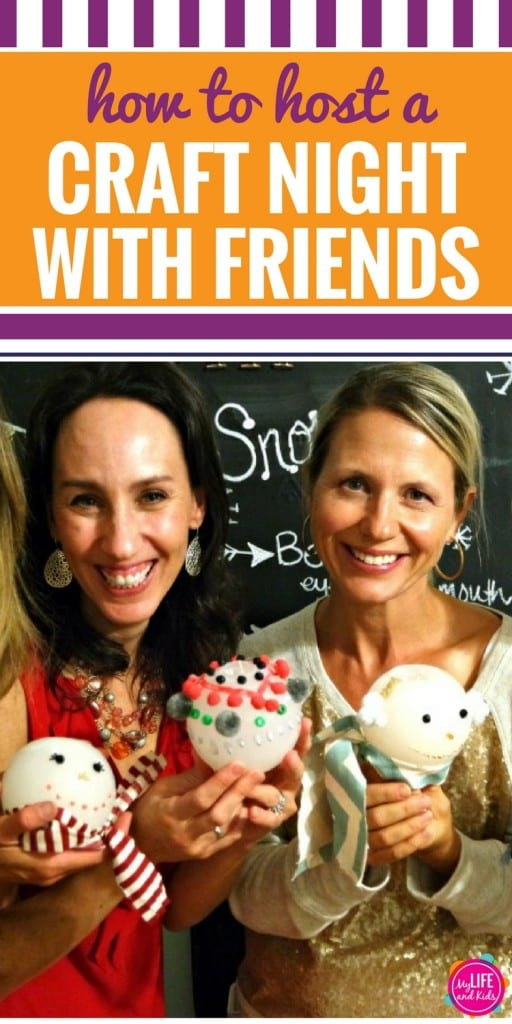 A craft night party is a great way to get the ladies together and create some DIY projects. These fun and simple ideas will let you know everything you need to know to host a fun craft night with friends - from what crafts to make to what appetizers to serve.