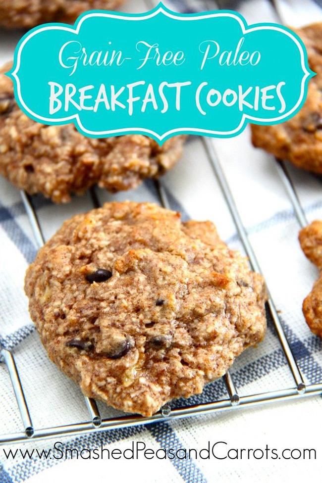 Grain-Free Paleo Breakfast Cookies copy