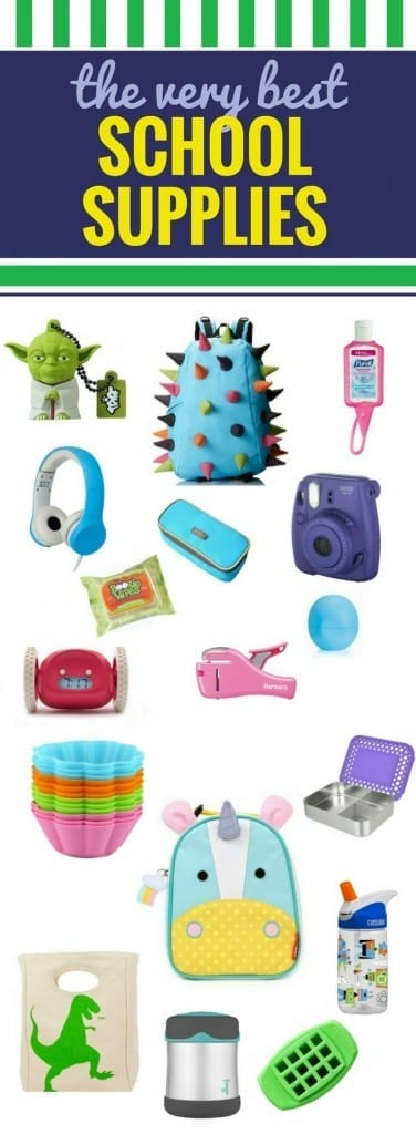 Whether your kids are heading to high school or preschool, you'll want to add these school supplies to your list! Some are cute, some are preppy, some are just downright required. From organization to lunch, these are must have items for back to school. #backtoschool #schoolsupplies #shopping #supplies #school #lunch #highschool #preschool