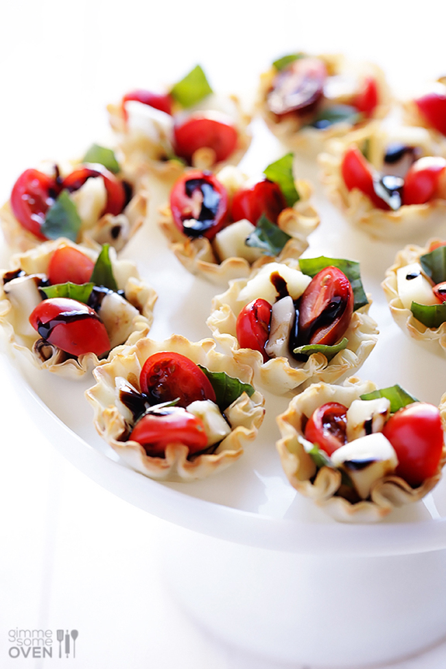 5-ingredient-caprese-phyllo-cups