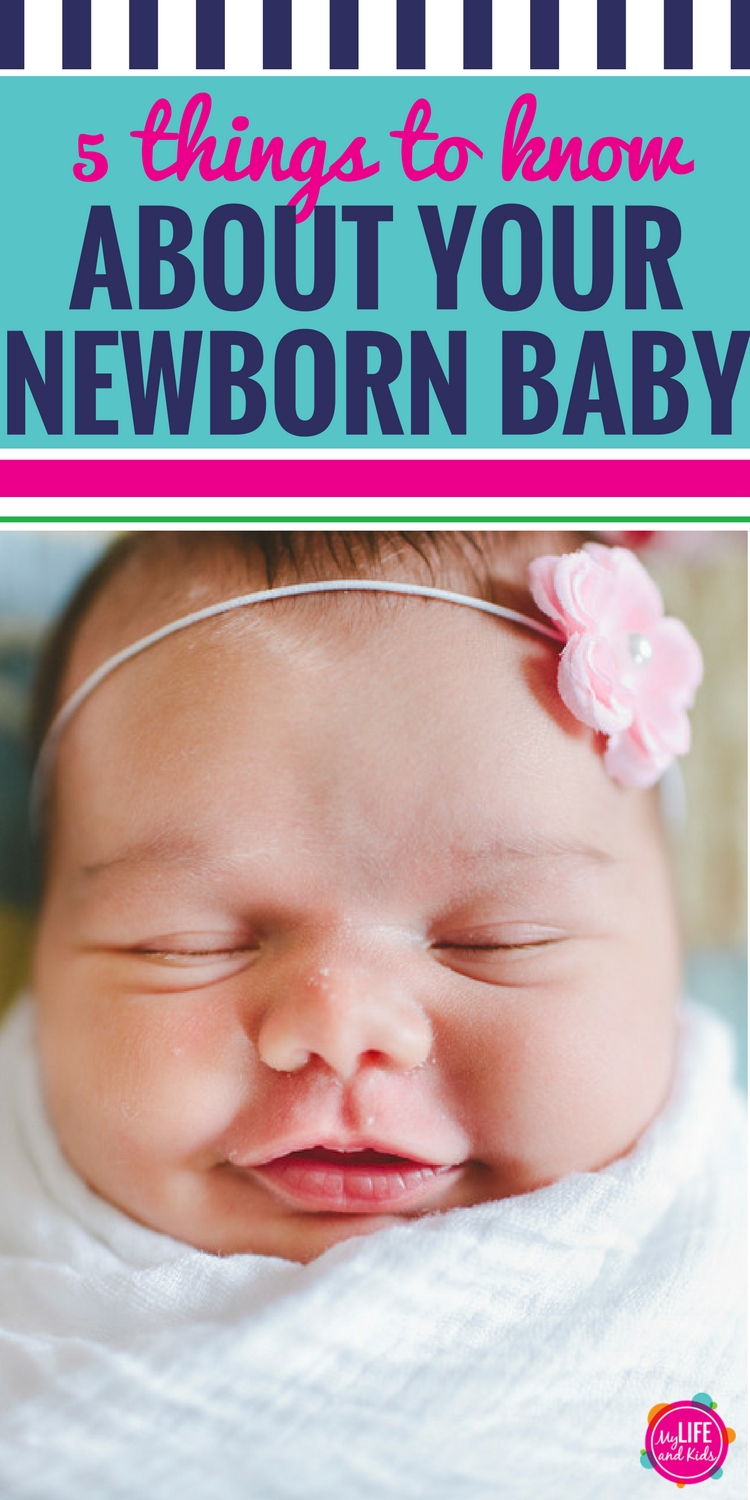 Whether you're pregnant, have just given birth or are hoping to have a baby in the future, here are five fun things to know about newborn babies.