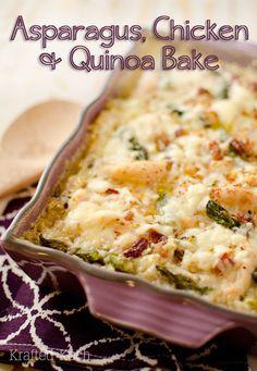 asparagus-chicken-quinoa-bake