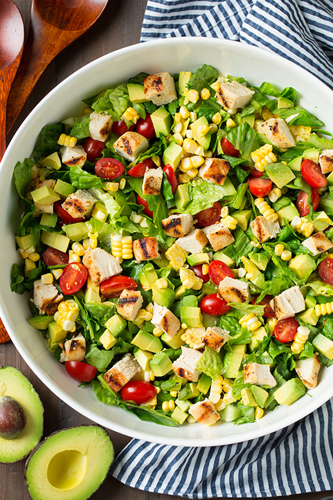 avocado-and-grilled-chicken-chopped-salad-with-skinny-chipotle-lime-ranch