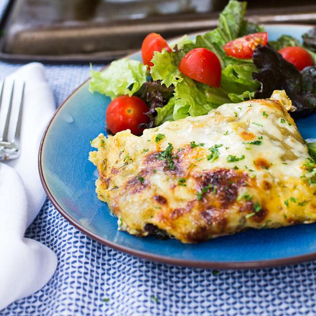 Chicken, Black Bean, And Spinach Enchiladas Recipe — Dishmaps