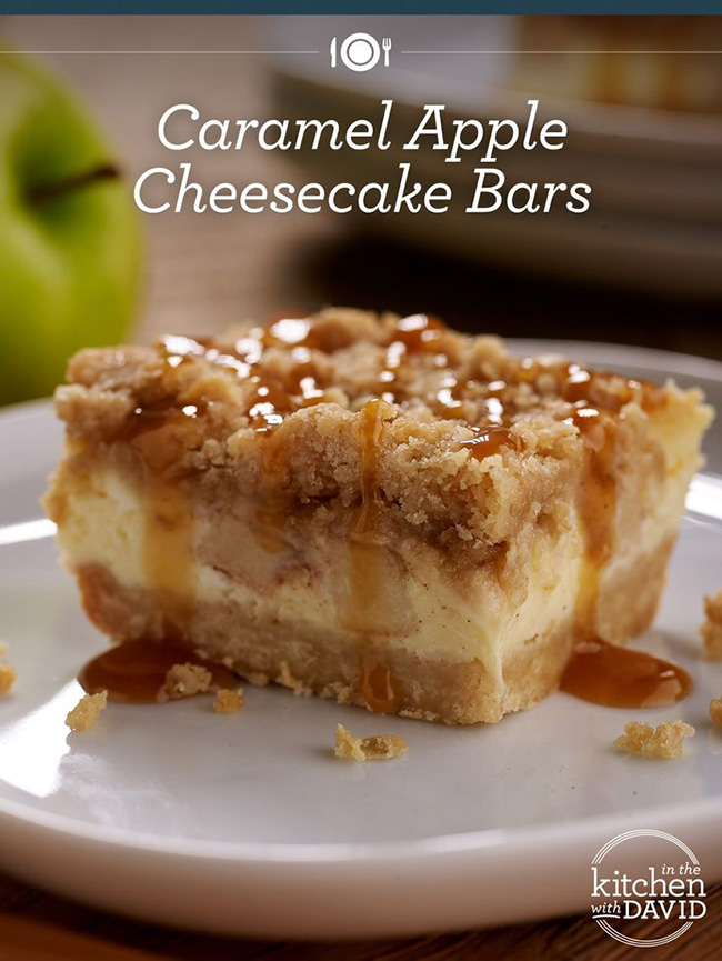 Caramel Frosting Apple Cake