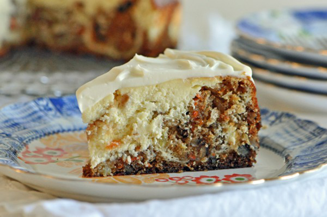 Carrot Cake Cheesecake Grandmother S Kitchen